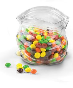 Love the illusion...glass candy 'bag'