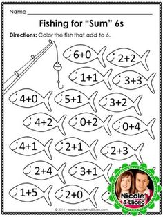 "Fun, interactive ""camp-themed"" activities for addition & subtraction practice."