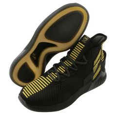 info for 8fbea fe5fb adidas D ROSE 9 Men s Basketball Shoes Black Gold Bounce Knit NBA NWT  BB7657  adidas