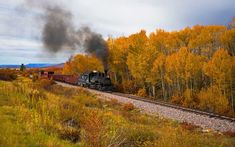 The Best Fall Foliage Train Trips to Take This Year - Train Trip Train Vacations, Fall Vacations, Great Places, Places To See, Beautiful Places, Napa Valley Wine Train, Train Rides, Train Trip, Tour Around The World