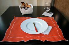 Tovaglietta - Placemat Parentesi Rettangolare - 034 orange