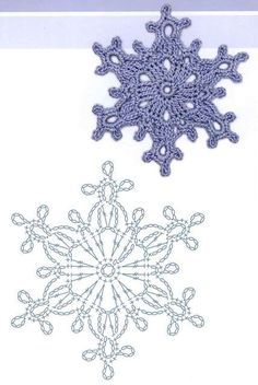 81 crochet snowflake pattern and inspiration ideas – Snowflakes Worldaniołki, gwiazdki i inne na Stylowi.Motiver for hekle applikasjonerTecendo Artes em Crochet: Flores - created on Frozen Lotus Decorative Free C - a grouped images picture - Pin T Crochet Diy, Thread Crochet, Crochet Motif, Irish Crochet, Crochet Crafts, Crochet Doilies, Crochet Flowers, Crochet Projects, Crochet Snowflake Pattern