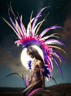 Cheyenne - designed by Anya Ayoung Chee for Tribe Carnival 2014
