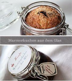 Marmorkuchen aus dem Glas... yammi <3