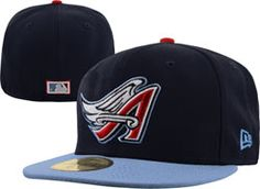 wholesale dealer 8ca2a fb8bc Los Angeles Angels of Anaheim Navy New Era Cooperstown 59FIFTY Fitted Hat   34.99 http