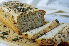 Výborný celozrnný chlebík bez miesenia Bread Recipes, Banana Bread, Desserts, Food, Basket, Tailgate Desserts, Deserts, Essen, Postres