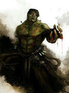Hulk Artwork
