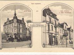 Parkhotel und Café Windsor in der Lindenstraße