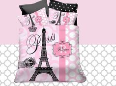 Bed Comforter Sets Eiffel Tower Bedding Paris Theme by Slive88
