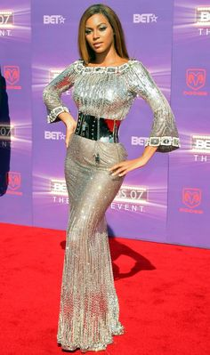 Beyonce at the BET Awards June 2007