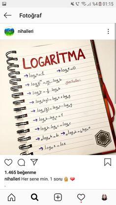 Learn Turkish, Science Jokes, School Study Tips, Basic Math, Formulas, Study Hard, Math For Kids, Study Motivation, Medical School
