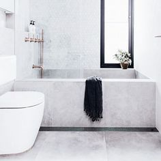 Cool Concrete - The Coolest Bathrooms On Insta - Photos