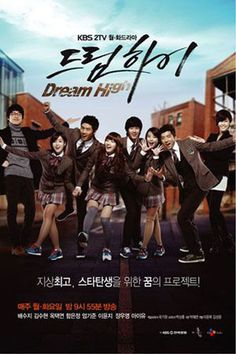 Dream High Episode 1 Eng Sub Drama Cool. Dream High tells the story of six students at Kirin Art High School who work to achieve their dreams of becoming music stars in the Korean music industry. Go Hye Mi is a student who sings . Korean Drama Online, Watch Korean Drama, Watch Drama, Korean Drama Movies, Korean Dramas, Live Action, Dream High 2, Kdrama, High School Drama