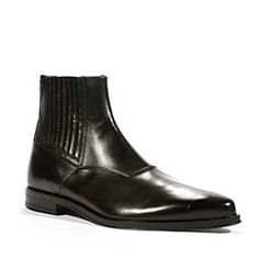 Cesare Paciotti Mens Boots Baby Lux Black P Shoes (CPM5420)
