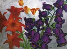 Bellflowers and Lilies - Emil Nolde - The Athenaeum