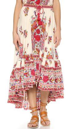 SPELL Hotel Paradiso Castaway skirt