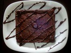 DUKANομαγειρευοντας: Dukan Choco Brownie Fudge Ducan Diet Recipes, Dukan Diet Plan, Superfoods, I Foods, Fudge, Healthy Eating, Sweets, Cooking, Cake