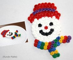 Hama Weihnachten - Spielwaren-Kröll in Gänserndorf Christmas Perler Beads, Diy Perler Beads, Pearler Beads, Hama Beads Patterns, Beading Patterns, Bee Crafts, Diy And Crafts, Slumber Party Crafts, Motifs Perler
