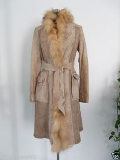 SUPER SALE: Montone-cappotto-Shearling-BENEDETTA-NOVI-Made-in-Italy-tg-42-44-da-1000