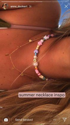 Trendy Jewelry, Summer Jewelry, Cute Jewelry, Diy Jewelry, Beaded Jewelry, Jewelry Accessories, Handmade Jewelry, Jewelry Making, Jewlery