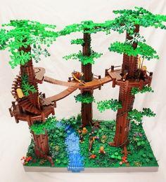 Melo R1: Lothlorien: A LEGO® creation by Grant Davis : MOCpages.com