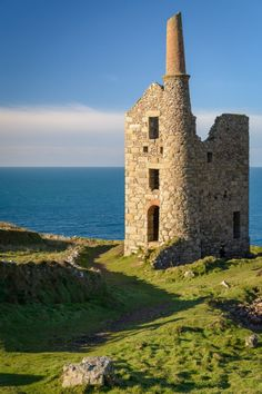 West Wheal Owles Mine, Botallack, Cornwall, Cornwall, UK (by Kenneth Cox)