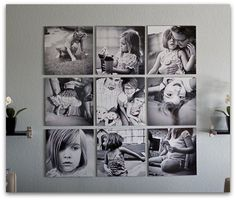 Want a canvas display in my living room