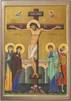 Icon of Crucifixion. 2009