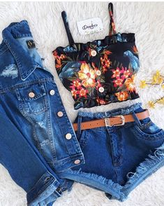 college date outfits Cute Casual Outfits, Girly Outfits, Cute Summer Outfits, Chic Outfits, Girls Fashion Clothes, Teen Fashion Outfits, Outfits For Teens, Style Fashion, Fashion Ideas