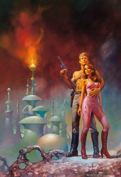 Boris Vallejo (American, b. Flash Gordon, paperback cover, 1980 Oil on board x 16 in. (sight) - Available at 2016 April 26 Illustration Art. Arte Sci Fi, Sci Fi Art, Boris Vallejo, Flash Gordon, Art Science Fiction, Pulp Fiction, Art Visionnaire, Bell Art, New Retro Wave
