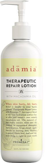 Adamia - for hurting skin. When older skin is thin and bruises or tears easily.