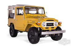 The FJ Company | Toyota Land Cruiser FJ40 1976 Yellow