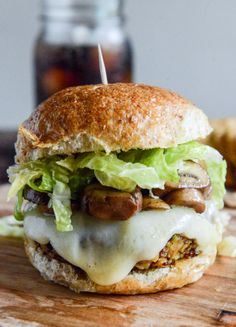 Crispy Autumn Veg Burgers with Apple Cider Slaw - Bring this great recipe to your table!
