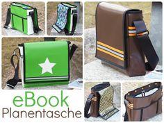 Nähanleitungen Taschen - EBook Schnittmuster LKW-Plane Tasche Nähanleitung - ein Designerstück von Keko-Kreativ bei DaWanda