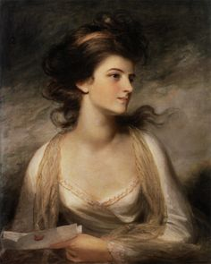 Portrait of a Lady as Evelina, c. 1780-1789by John Hoppner