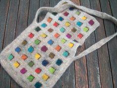 Ravelry: Phazelia's Kauni color bag