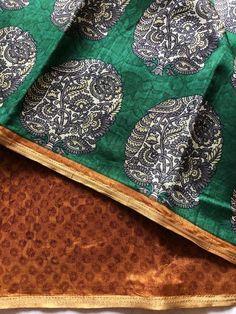 Printed art silk saree Raw Silk Saree, Silk Sarees, Color Combos, Art Prints, Collections, Printed, Decor, Art Impressions, Colour Schemes