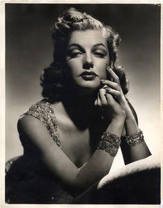 Ann Sheridan (1915-1967) by George Hurrell