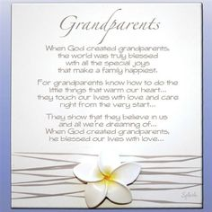 Grandparents Poem A Very Moving Tribute To Our Grandparents