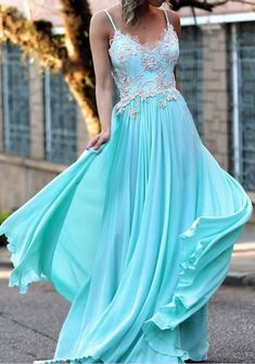 On Sale Distinct Prom Dress Long Sexy Prom Dresses,Spaghetti Straps Prom Dress,Appliques Prom Dress,Long Prom Dress,Chiffon Prom Dresses Straps Prom Dresses, Prom Dresses 2017, Backless Prom Dresses, A Line Prom Dresses, Formal Dresses For Women, Cheap Prom Dresses, Formal Evening Dresses, Party Dresses, Dress Formal
