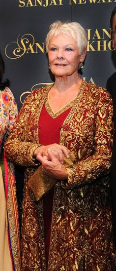 Judy Dench in Sandeep Khosla ?