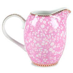 Petite Rose Pink Small Creamer Pitcher @Layla Grayce  -  kitchen, glass, small pitcher.    lj