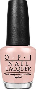 Favorite classy nail polish.  LOVE the sheer color.  Just enough pink and shine. OPI Soft Shades Collection Bubble Bath Ulta.com