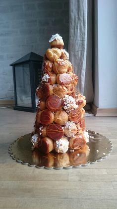 Croquembouche / piece montee / Wieża ptysiowa !