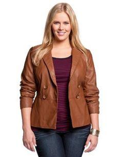 jacketers.com plus size womens leather jackets (02) #womensjackets