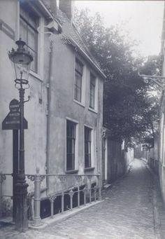 bagijnesteeg 1920 Historisch Centrum Leeuwarden - Beeldbank Leeuwarden