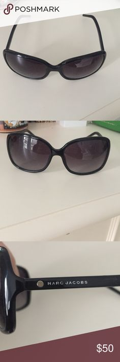 marc jacobs sunglasses brand new and never used! accidental threw away the box but it is brand new and very stylish! willing to negotiate :) Marc Jacobs Accessories Glasses