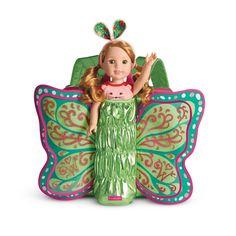 AMERICAN GIRL  Wellie Wishers Flutter Wings Doll Carrier