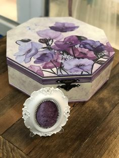 Decoupage, Decorative Boxes, Decoration, Home Decor, Decor, Decoration Home, Room Decor, Decorations, Decorating