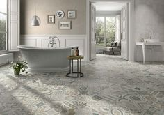 ‪#‎Nuevo‬ Provenzal Gris. Nacido para protagonizar los espacios ‪#‎New‬ Provenzal Gris. Designed to take centre stage in any space #PamesaCerámica #Pamesa #decoración #interiores #interiorismo #interiorista #tendencias #pavimento #revestimiento #cerámica #hidráulico #decor #interiordesign #interiors #trends #home #tiles #tiles #Pamesa #carrelage‬ #hydraulic